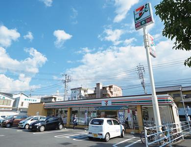 セブンイレブン松山湯渡町店 約500m(徒歩7分)