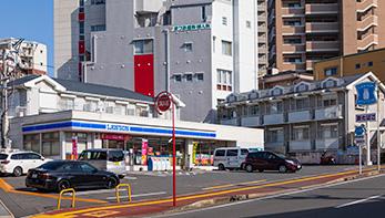ローソン長崎石神店 約80m(徒歩1分)