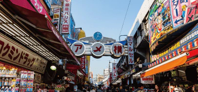 アメ横商店街 約710m(徒歩9分)