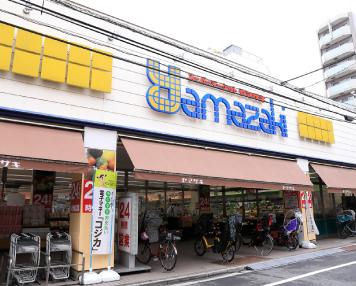 スーパーヤマザキ三筋店 約300m(徒歩4分)