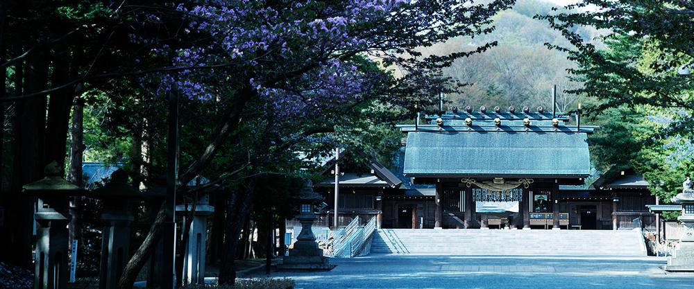 北海道神宮 約550m(徒歩7分)