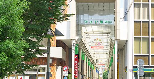 吉祥寺ダイヤ街 約1,870m(徒歩24分)