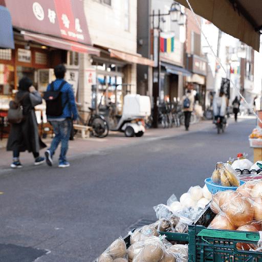 ぷらもーる商店街 約380m(徒歩5分)