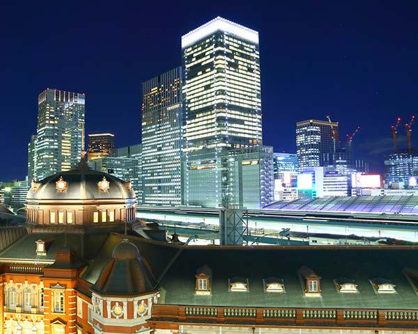 東京駅 ミッド:約3,180m サウス:約3,360m