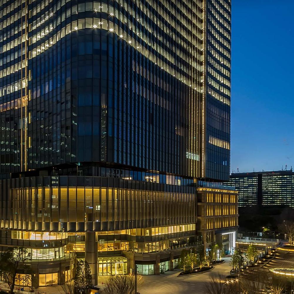東京ミッドタウン日比谷 ミッド:約2,700m サウス:約2,850m