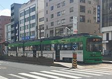 広島電鉄「本川町」電停 約450m(徒歩6分)