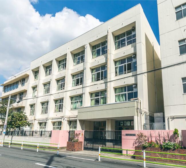 矢口中学校(通学校区) 約1,040m(徒歩13分)