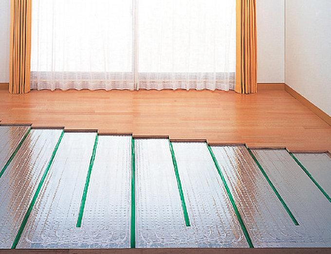 ガス温水式床暖房システム(TES)