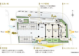 敷地配置概念図