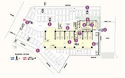 敷地配置図・1階平面図