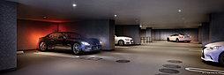 屋内平面駐車場完成CG