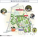 駒沢オリンピック公園概念マップ