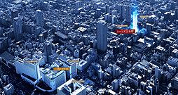 (仮称)上本町プロジェクトの外観
