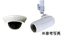 防犯カメラ(駐車場内&エントランス)