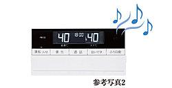 音楽プレイヤーをキッチンリモコンに接続すると、バスルーム内で音楽や音声プログラムを楽しむことができます。好きな曲がBGMとしてバスルームリモコンから流れ、一日の疲れを癒してくれます。