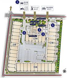 敷地配置図・2階平面図