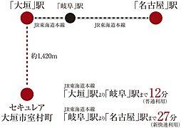 ※アクセス:電車所要時間は日中平常時のものであり時間帯により異なります。