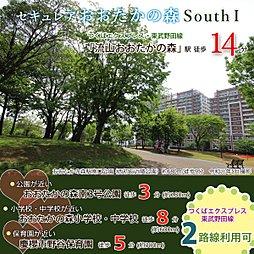 【ダイワハウス】セキュレアおおたかの森 South I (分譲住宅)の外観