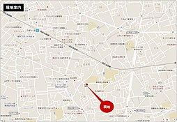 ライフイズム西東京・住吉町I 【 建築条件付売地:1区画 】:案内図