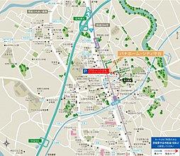【TX 始発「守谷」駅徒歩12分】パナホーム・シティ 守谷:案内図