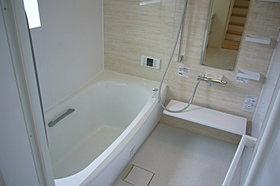 浴室換気暖房乾燥機付広々一坪タイプのシステムバス