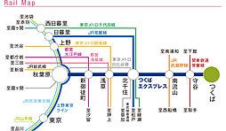 ウェルネスシティつくば桜【第1期建売】(まちなみ参観日まちなみ会場):交通図