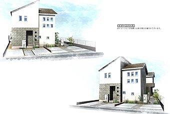 地下鉄七隈線「金山」駅まで徒歩圏内に人気のトータテの家、新発表!並列駐車2台です。