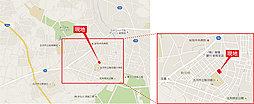 【省エネ×床暖房の家。】ふれあいの街・駒羽根第4期 <小学校に隣接>:案内図