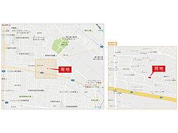 〈横尾材木店〉【設計性能評価・長期優良住宅・BELS】東別所第3期:案内図