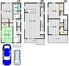 (1号地)価格2,980万円、4LDK、土地面積83.13m2、建物面積115m2