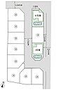 全体区画図 全11棟の分譲地 現在4棟販売中です。
