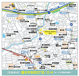 eMIRAIE 阪急宝塚線 Nature Garden =豊中本町=:案内図