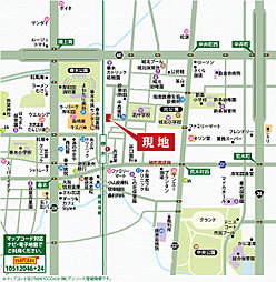 プレミアムコンフォート岸和田春木旭町:案内図