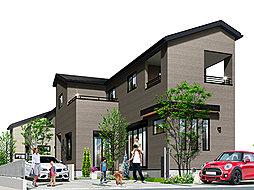 ポラスの分譲住宅 Mirais 三郷中央 nextstage 望む街。B区の外観
