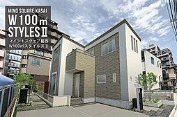 ポラスの分譲住宅 【予告広告】マインドスクェア葛西 W100m 2 スタイルズIIの外観