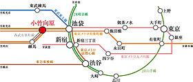 「池袋」駅へ直通4分。3路線を利用できる快適アクセス。