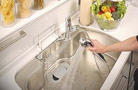 「浄水器一体型水洗」