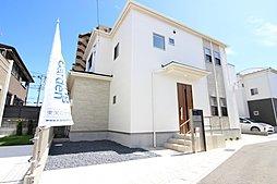 東栄住宅【ブルーミングガーデン】松戸市松飛台11棟の外観