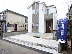 東栄住宅【ブルーミングガーデン】松戸市西馬橋1丁目1棟の外観