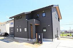 【竹原市中心部】機能面・デザイン面を兼ね備えた分譲住宅の外観