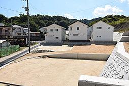 【尾道市山波町】エアリータウンおのみち山波2期分譲中の外観