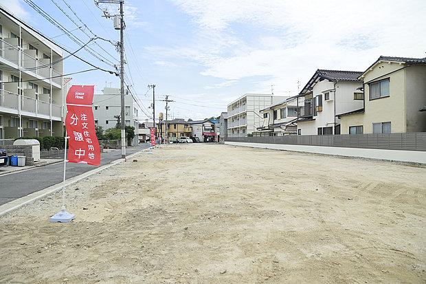 広電江波線「江波駅」徒歩13分 江波西2丁目で新規分譲地が誕生
