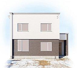 【土屋ホーム】大きな納戸のある、モダンナチュラルな家ーとん田 MODELーの外観