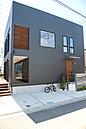当社施工例 湘南の青い空にあうシンプルスタイルな邸宅