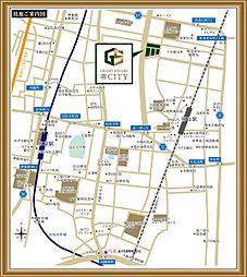 グランドスクエア堺CITY:案内図