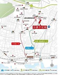 パールヒルズ高丸 全54区画の新しい街誕生 分譲開始:案内図