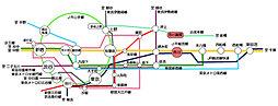 【全9区画・市川駅徒歩5分】デザイン性に優れた新しいスタイルの分譲地・市川【ラスト1区画】:交通図