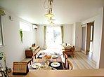 ジブンハウス仕様 モデルハウス(参考プラン例) 広々としたリビングを見渡せる対面キッチン♪
