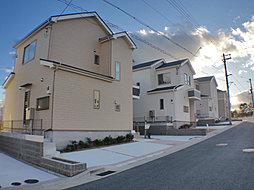 西宮名塩ニュータウン内に全7区画が堂々竣工済み。残りわずか2区...
