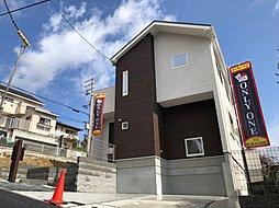 プレミアム雲雀丘 竣工済コンセプトハウス ・建築条件無し売土地の全2区画 大阪の街を見渡せる眺望有の外観